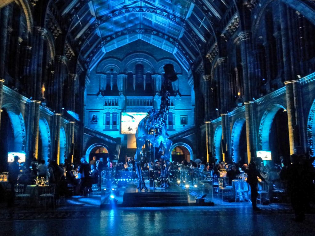 The grand ceremony at the Natural History Museum for Wildlife Photographer of the Year 2016